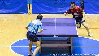 Vigilia dell' incontro della Top Spin: i pareri dei tecnici Alessandro Arcigli e Wang Hongliang