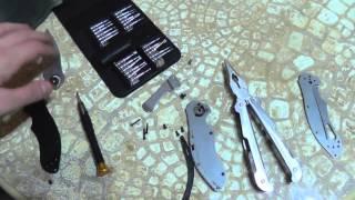 Ножи 14-летних пацанов. Реанимация Kershaw 1605 и Kershaw 3840