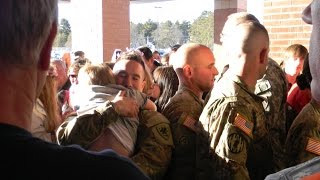 Returning Soldiers get Surprise Police escort