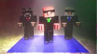 getlinkyoutube.com-5min Minecraft Mob Dance Party - Animation - SlamacowCreations