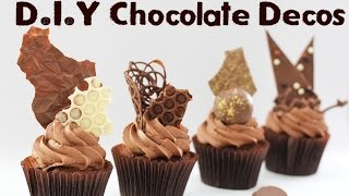 getlinkyoutube.com-7 Chocolate Decorations - Shards, Spheres, Discs and More! | Elise Strachan