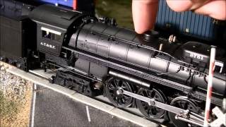 getlinkyoutube.com-Broadway Limited 4-8-4 Northern #3751 ATSF review (2nd run) HO Scale Paragon 2