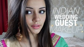 getlinkyoutube.com-Tutorial | Indian Wedding Guest Makeup Look #1 | Kaushal Beauty
