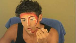 getlinkyoutube.com-Cirque du Soleil Makeup - ZAIA - The Shaman