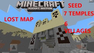 getlinkyoutube.com-[MCPE 0.15.0] 7 DESERT TEMPLES SEED | DELETED 5K SUBS MAP | 6 VILLAGES | MINECRAFT PE