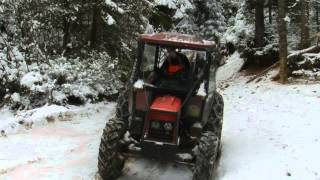 getlinkyoutube.com-Zetor 6945 UKT