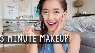 getlinkyoutube.com-3 Minute Makeup Challenge | clothesencounters