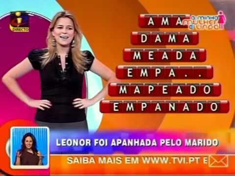 VTV   Leonor Poeiras  surpreendida pelo marido
