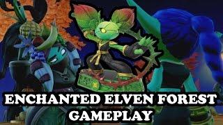 getlinkyoutube.com-Skylanders Imaginators - NEW LEVEL! Enchanted Elven Forest + Boom Bloom GAMEPLAY - WAVE 3