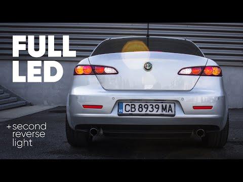 Full LED conversion Alfa Romeo 159 rear lights (+second reverse light)