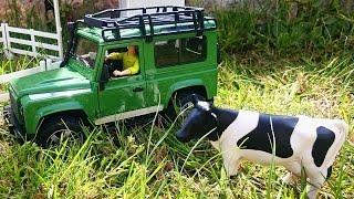 Toys. Ферма. Видео для детей. Как сделать конюшню для лошади