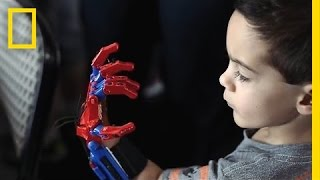 getlinkyoutube.com-How 3-D-Printed Prosthetic Hands Are Changing These Kids' Lives | Short Film Showcase