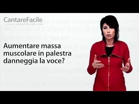 Aumentare massa muscolare in palestra danneggia la voce? - Domande sul Canto #11