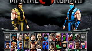 getlinkyoutube.com-Mortal Kombat Project 4.1 V6 (versão Mugen 1.1) With Download