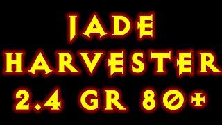 getlinkyoutube.com-Diablo 3 Jade Harvester Greater Rift 80+ Build 2.4 Ptr BOOM !!!