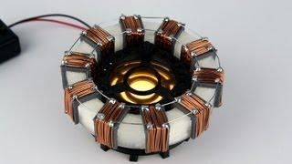 getlinkyoutube.com-XRobots - 3D Printed Iron Man Arc Reactor Prop, Designed in Autodesk 123D Design and Home Printed