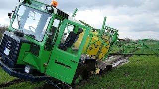 Dammann Trac DTP 3024 - niebezpieczna wtopa opryskiwacza