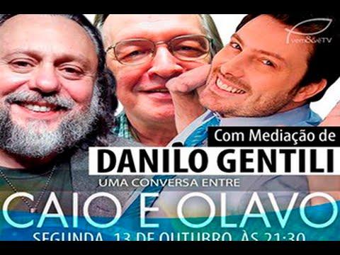 Hangout com Caio Fabio, Olavo de Carvalho e Danilo Gentili - Parte 1