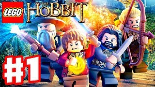 getlinkyoutube.com-LEGO The Hobbit - Gameplay Walkthrough Part 1 - Greatest Kingdom in Middle Earth (Xbox One, PS4, PC)