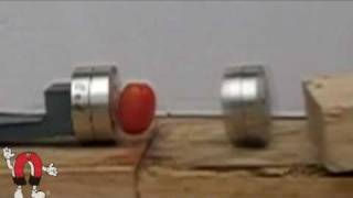 getlinkyoutube.com-Big Neodymium Magnets Destroying Stuff!!!