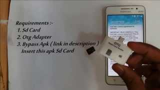 getlinkyoutube.com-Disable | Bypass Google Account Lock on any Samsung phone ( FRP Bypass )