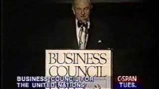 getlinkyoutube.com-David Rockefeller speaks about population control.