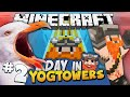 Minecraft - A Day At Yogtowers #2 - Fridge Tax