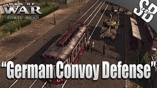 getlinkyoutube.com-MEN OF WAR: ASSAULT SQUAD 2 - German Convoy Defense - MOD