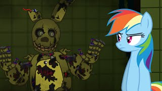getlinkyoutube.com-My Little SpringTrap - Horror is Magic - Five Nights at SpringTrap's (Late 30K Subs special)