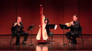 getlinkyoutube.com-Barboteu: Equisse, Trio for Horn, Flute and Harp