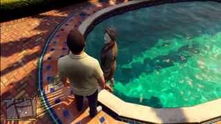 getlinkyoutube.com-GTA 5 - Amanda Swims With Michael