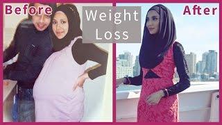 getlinkyoutube.com-WEIGHT LOSS AFTER PREGNANCY! | Amena