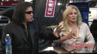 getlinkyoutube.com-Gene Simmons of Kiss & Shannon Tweed of Family Jewel's on Barrett-Jackson Online