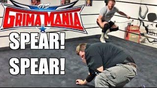 getlinkyoutube.com-FAT YOUTUBER WRESTLES FORMER WWE STAR CURT HAWKINS IN CHAMPIONSHIP MATCH!