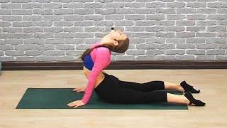 getlinkyoutube.com-Растяжка спины. Обучающее видео, смотреть всем