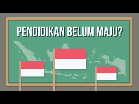 MENGAPA PENDIDIKAN DI INDONESIA BELUM MAJU ?