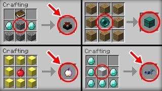 getlinkyoutube.com-✔ Minecraft: 20 Crafting Recipes That Changed