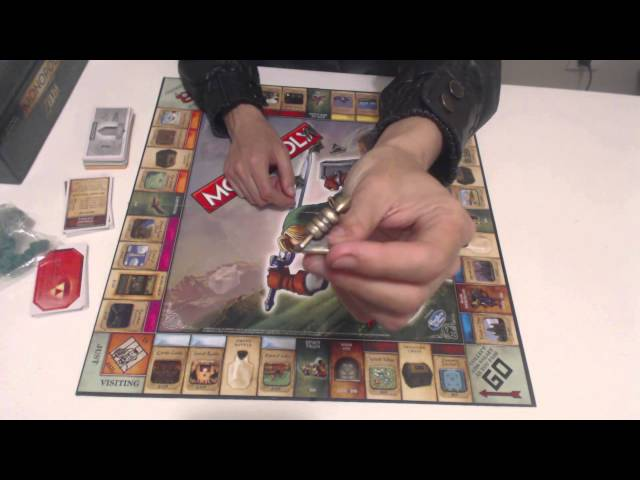 The Legend of Zelda Monopoly Collector's Edition Unboxing