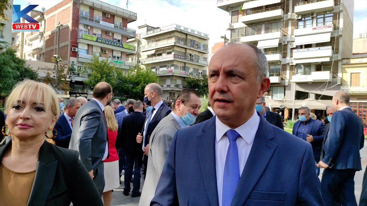 Δηλώσεις στην Kapa WebTV του Υπουργού Μακεδονία & Θράκης κ. Θ. Καράογλου και της Αντιπεριφερειάρχης της Π.Ε. Πιερίας κ. Σοφίας Μαυρίδου