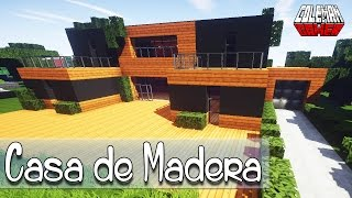 Como hacer una Casa Moderna de Madera