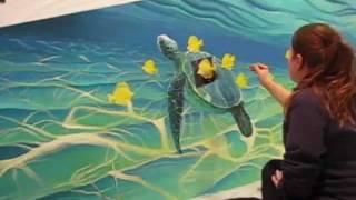 getlinkyoutube.com-Painting a 12 foot Mural