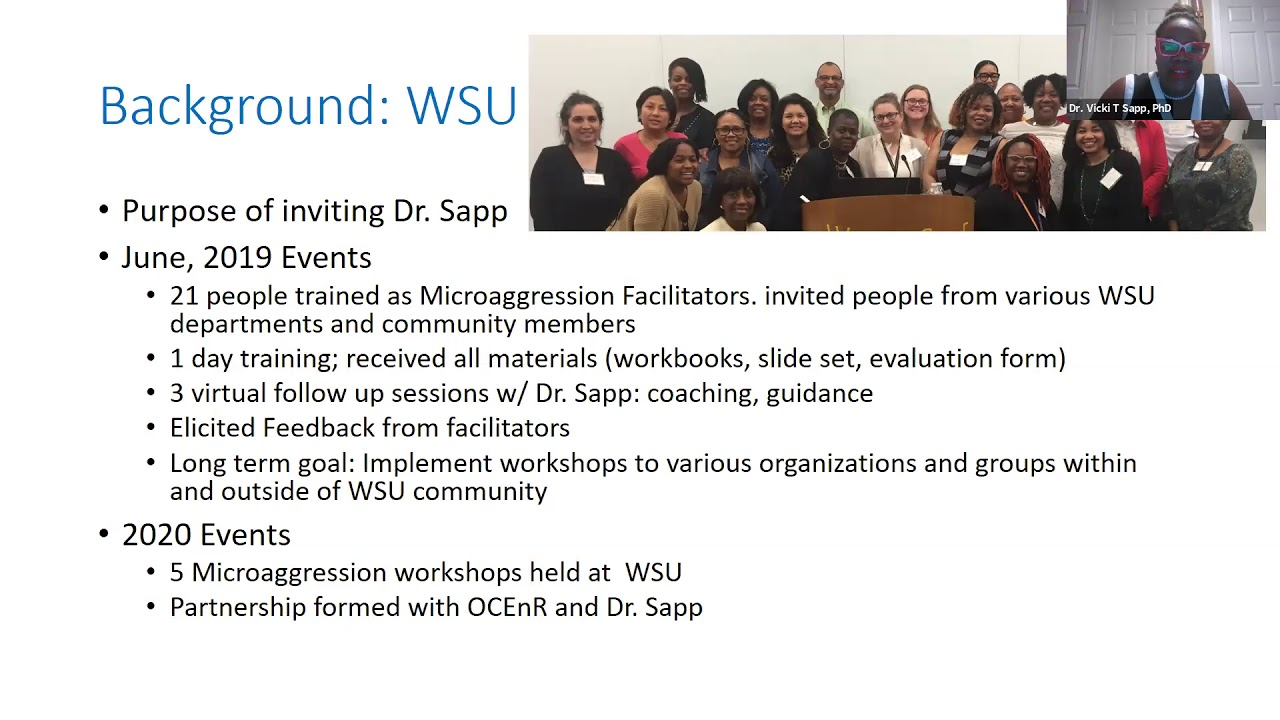 2020 Community Engaged Research Symposium - Training Update - CEnR Microaggressions Workshop video thumbnail