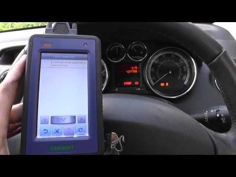 Peugeot ABS ASR ESP Fault Diagnose & Reser Dash Warning Lights