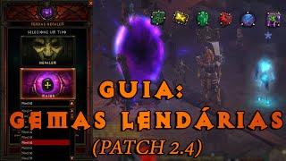 Diablo III: Como Upar Gemas Lendárias (Patch 2.4)