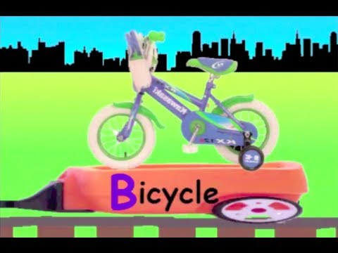 Learn Alphabet B Train - learning alphabet B for kids
