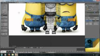 getlinkyoutube.com-Blender Minion Time lapse