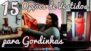 getlinkyoutube.com-Moda Plus Size Brasil - 15 Modelos de Vestido para Gordinhas
