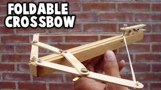 getlinkyoutube.com-How to Make a Foldable Crossbow