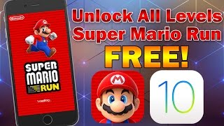 getlinkyoutube.com-Unlock All Super Mario Run Levels Free on iOS 10.0 - 10.3 (No Jailbreak) iPhone, iPod touch & iPad