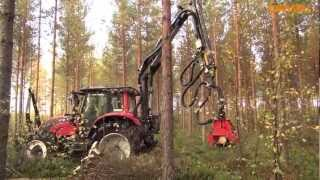 getlinkyoutube.com-Valtra w lesie